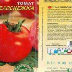 Томат Белоснежка: описание сорта