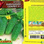 Огурец Бабушкин секрет f1: описание сорта, посадка и уход, фото
