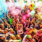Всероссийский фестиваль красок 2019 в Санкт-Петербурге