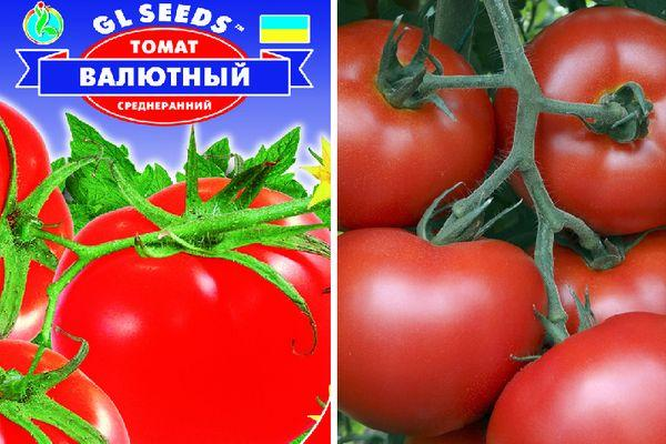 Томат Валютный: описание сорта